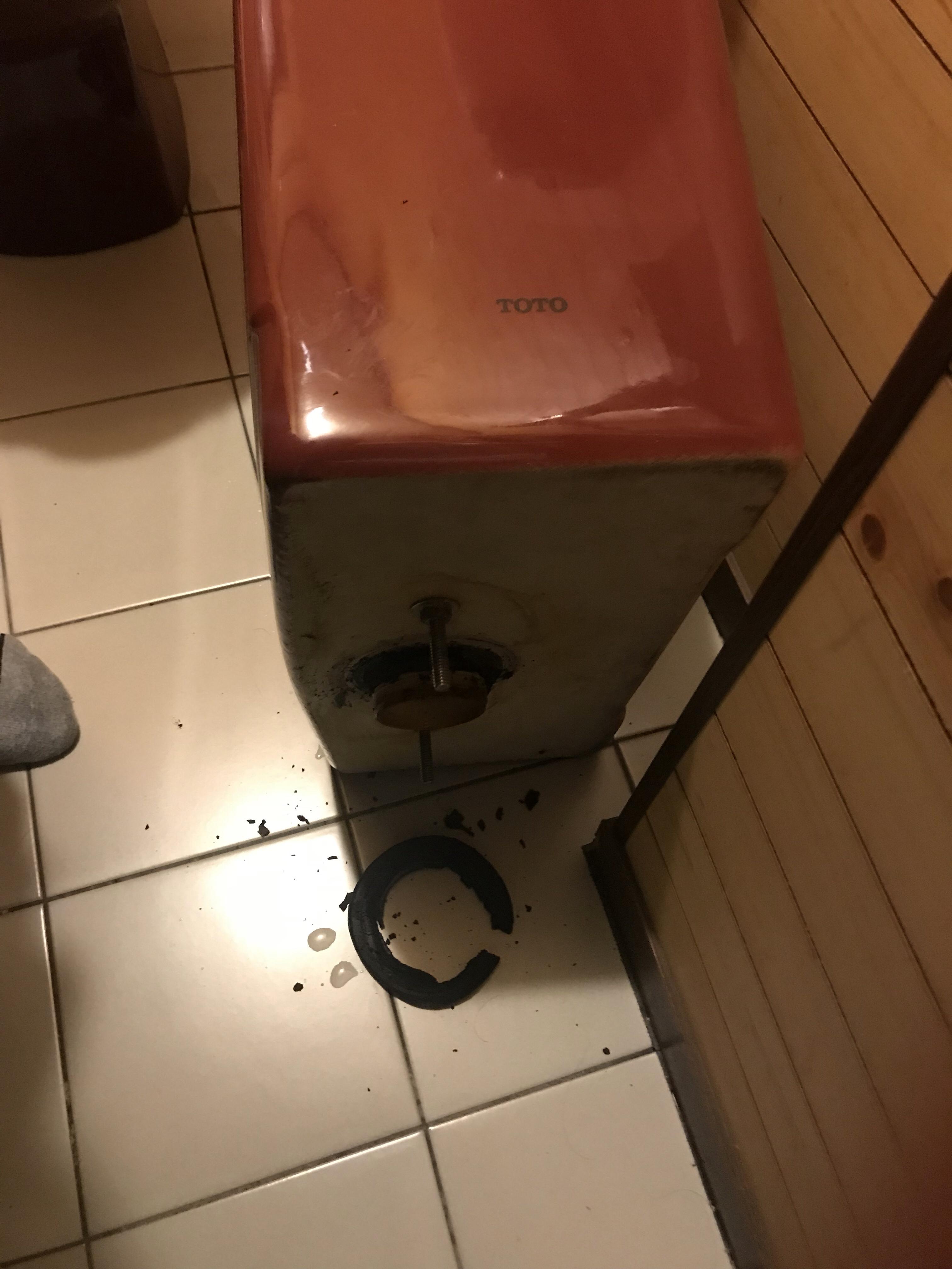 水 トイレ 漏れ タンク