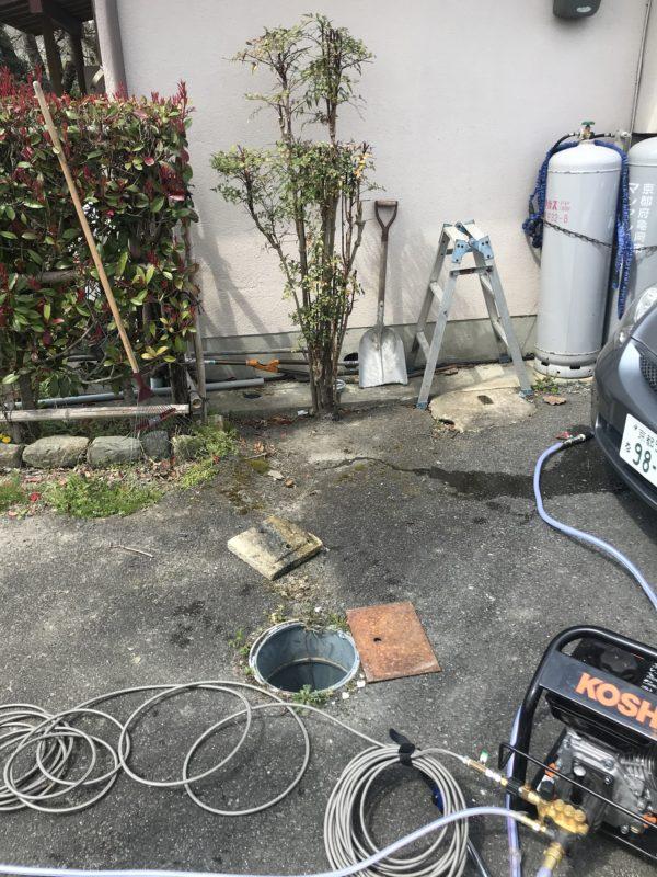トイレ 下水詰まり  京都 亀岡市